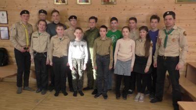 Добровольцы отряда «Малахов курган» почтили память контр-адмирала В.И. Истомина