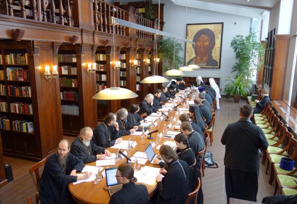 Митрополит Серафим принял участие в заседании по подготовке будущих пастырей в Сретенской духовной семинарии