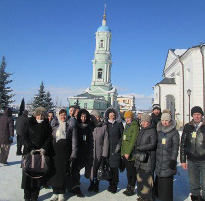 Пензенские паломники посетили Оптину пустынь