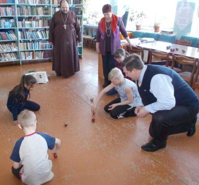 В селе Русский Ишим Городищенского района состоялся детский праздник «Как на Красной, на горе»