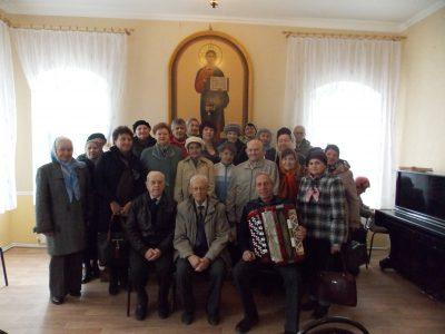 В Покровском архиерейском соборе прошла встреча с участниками клуба «Ровесники»