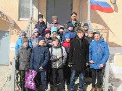 В дни весенних каникул при Петропавловском храме г. Пензы прошли лагерные сборы 26 отдельной группы разведчиков Национальной организации добровольцев «Русь»