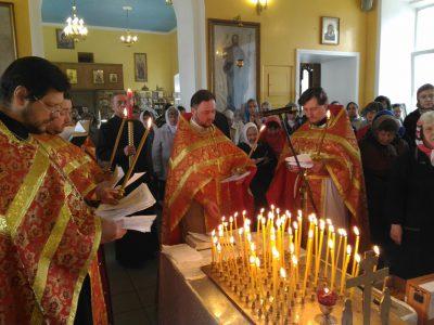 День Радоницы в Никольском храме в Терновке