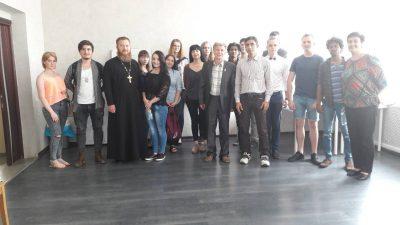 В Доме молодежи г. Пензы прошла лекция на тему: «Традиционная духовность и русская литература»