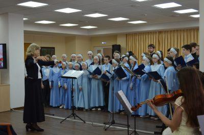 В Пензенской областной библиотеке им. М.Ю. Лермонтова состоялся концерт «За нами Небесная Рать», посвященный подвигу святых царственных страстотерпцев