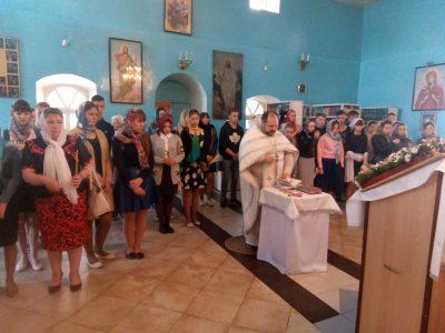 В городе Городище отслужен молебен для выпускников школы