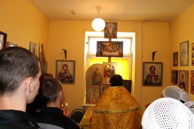 Иерей Михаил Земцов посетил осужденных, содержащихся в СИЗО №1