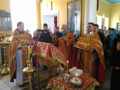 День Победы в Никольском храме в Терновке