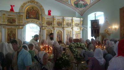 Праздник Вознесения в Димитриевском храме