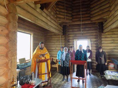 В селе Кроптово впервые за многие десятилетия совершена Божественная литургия