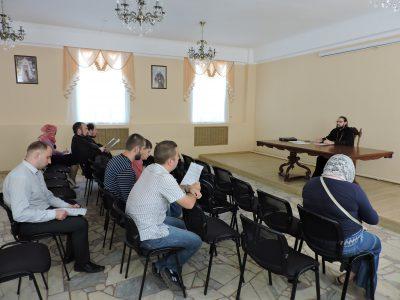 В епархиальном управлении прошла встреча помощников благочинных по миссионерской деятельности и сотрудников миссионерского отдела