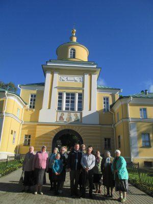 Пензенские паломники посетили святыни Сергиева Посада
