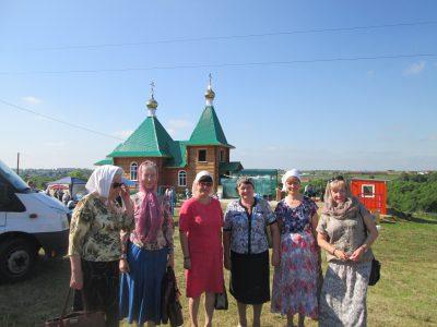 Пензенские паломники посетили село Кочетовка Каменского района