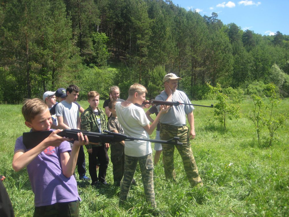 В Городищенском районе состоялась военно-патриотическая игра «Зарница»