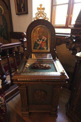 В Троицком женском монастыре объявлен сбор средств для приобретения башмачка святителя Спиридона Тримифунтского