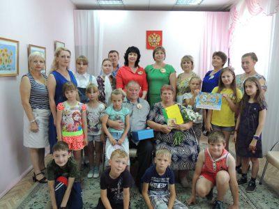 В Городищенской районной библиотеке прошло праздничное мероприятие «День семьи, любви и верности»