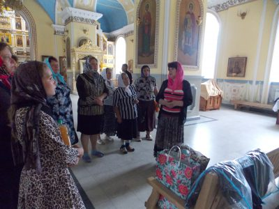 В Покровском архиерейском соборе состоялся цикл мероприятий памяти святых Царственных страстотерпцев