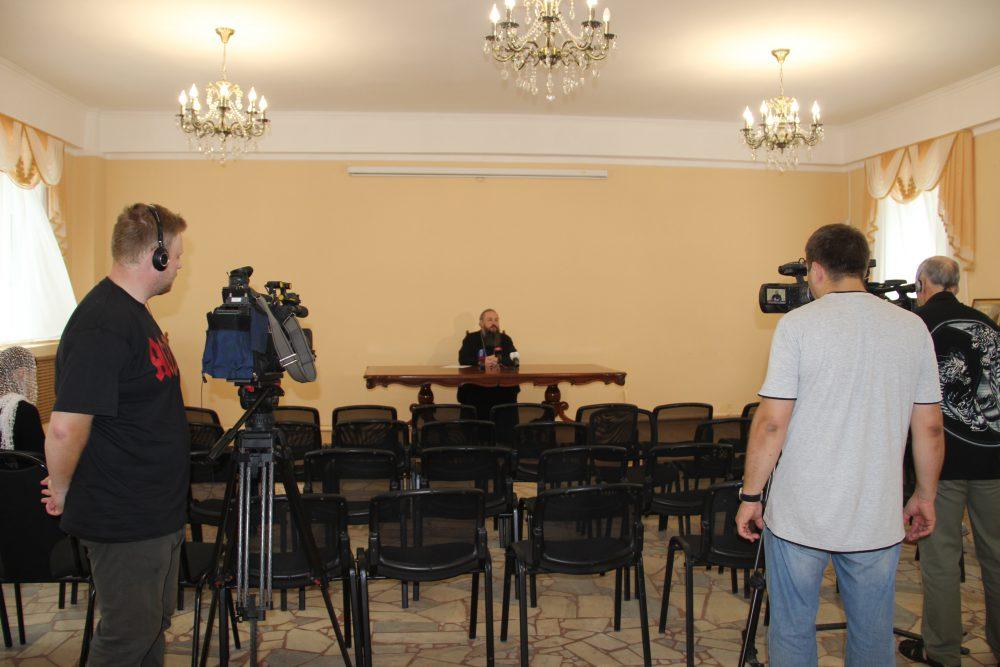 В Пензенском епархиальном управлении прошла пресс-конференция, посвященная прославлению блаженного Иоанна Кочетовского