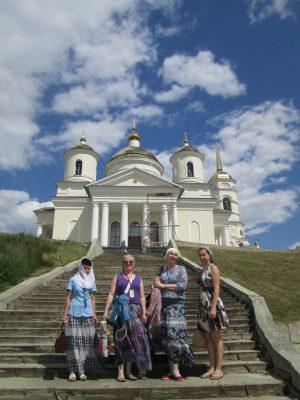 Пензенские паломники посетили Соловцовку и Большую Валяевку