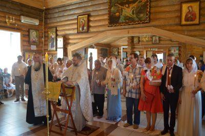 В Пензе состоялось торжественное венчание, посвященное Дню семьи, любви и верности
