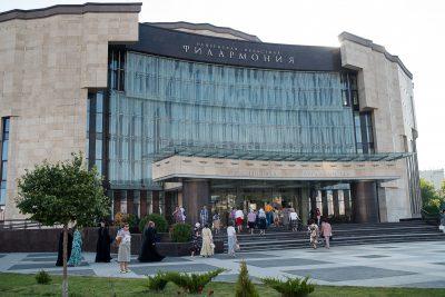 Пензенский епархиальный камерный хор «СПАС» выступил в Большом зале филармонии с программой «Царский венец»