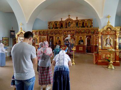 Празднование Происхождения (изнесения) Честных Древ Животворящего Креста Господня в селе Трофимовка