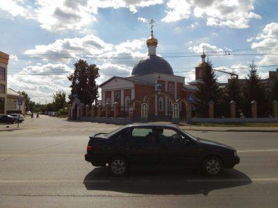 Празднование Происхождения (изнесения) Честных Древ Животворящего Креста Господня отметили в Никольском храме в Терновке