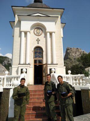 Группа пензенской православной Молодежной Казачьей Организации «Ермоловцы» совершила паломничество в Крым