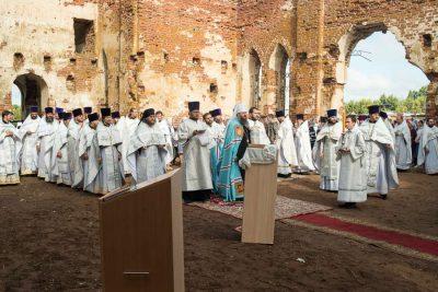 Духовенство и прихожане из Городищенского района поучаствовали в богослужении в селе Кучки
