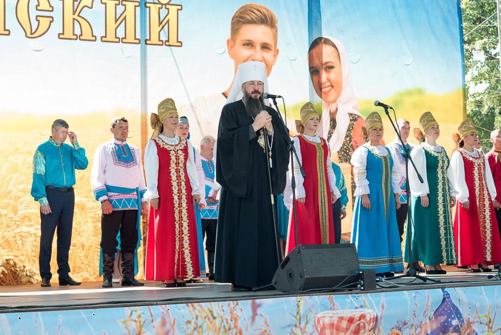 В сквере имени М.Ю. Лермонтова состоялся фестиваль православной культуры Пензенской области «Спас»