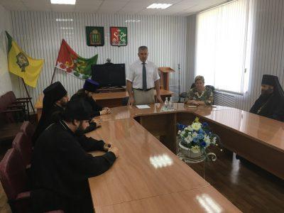 В Каменке прошла встреча главы администрации Каменского района с духовенством Каменского благочиния