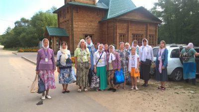 Паломники посетили Тихвинский мужской скит на Семи Ключах Шемышейского района
