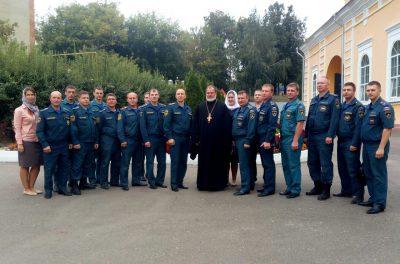 Пензенские пожарные приняли участие в торжествах по случаю чествования иконы Божией Матери «Неопалимая Купина»