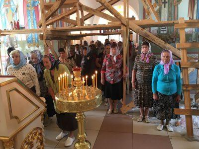 День празднования Усекновения главы Предтечи Господня Иоанна в храме св. вмч. Димитрия Солунского г. Каменки