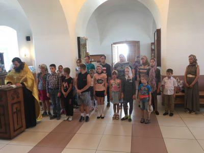 В воскресной школе при Димитриевском храме Каменки начался новый учебный год