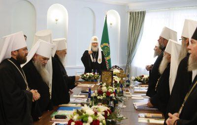 В.Р. Легойда: Мы не разорвали отношения с Константинополем, а констатировали ситуацию произошедшего разрыва