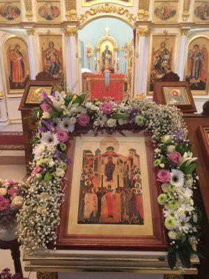 Празднование Покрова Пресвятой Богородицы в Димитриевском храме города Каменки