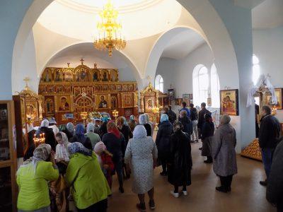 Празднование Покрова Пресвятой Богородицы в селе Трофимовка
