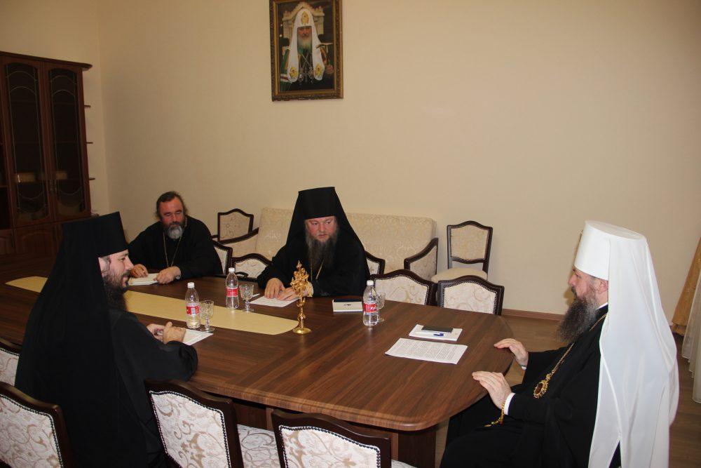 В епархиальном управлении состоялся Архиерейский совет Пензенской митрополии