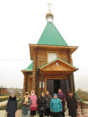 Пензенские паломники поклонились святым мощам блаженного Ионна Поташева, старца Кочетовского