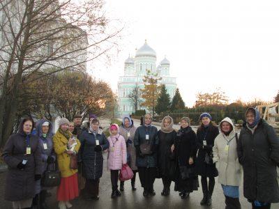 Пензенские паломники посетили Диевеево