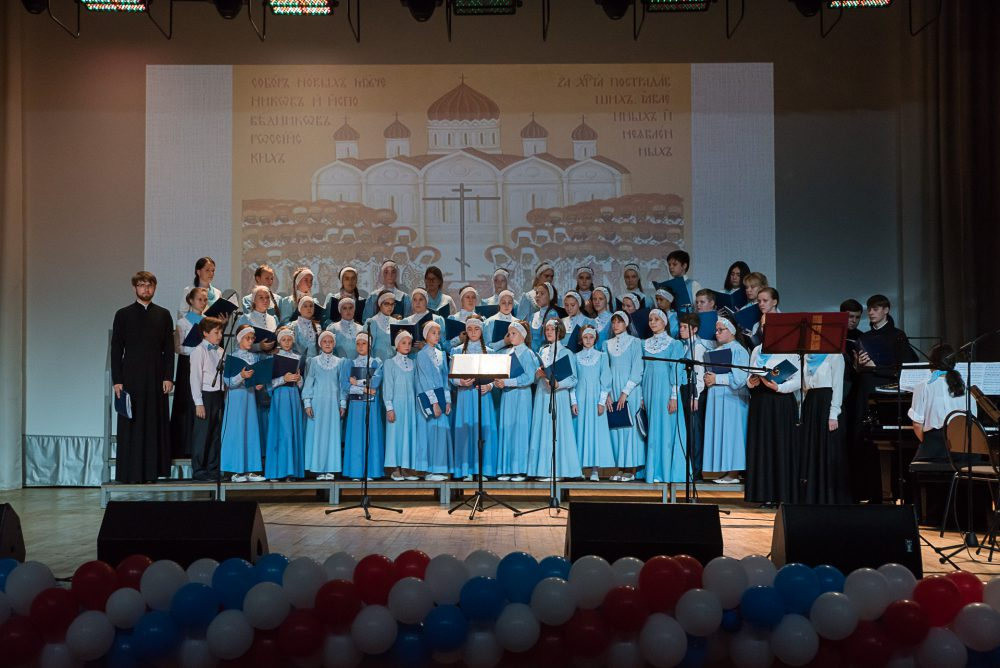 Детский фестиваль духовной музыки «За нами Небесная Рать» (фоторепортаж)