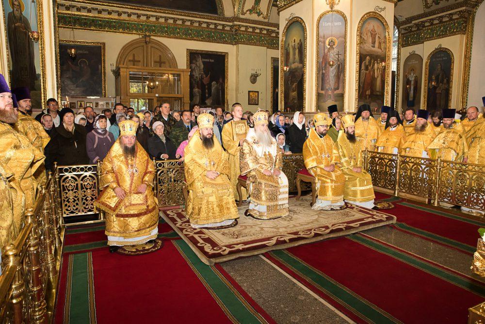 В Пензе почтили память святителя Иннокентия, епископа Пензенского и Саратовского