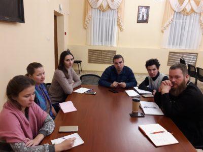 В епархиальном управлении состоялось заседание отдела по делам молодежи Пензенской епархии