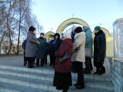 Покровский архиерейский собор посетили паломники из города Тамбова