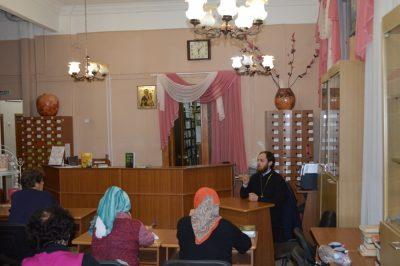 В рамках православного лектория состоялась встреча со священником Виталием Зориным