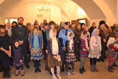 В Петропавловском храме Пензы состоялась детская Божественная литургия
