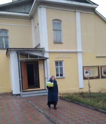 В Покровском соборе Пензы прошла акция по сбору вещей для нуждающихся