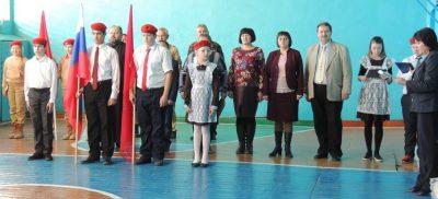 Священнослужитель принял участие в торжественном мероприятии в школе села Русский Ишим