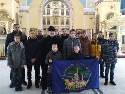 Покровский архиерейский собор посетили паломники из Кузнецкой епархии
